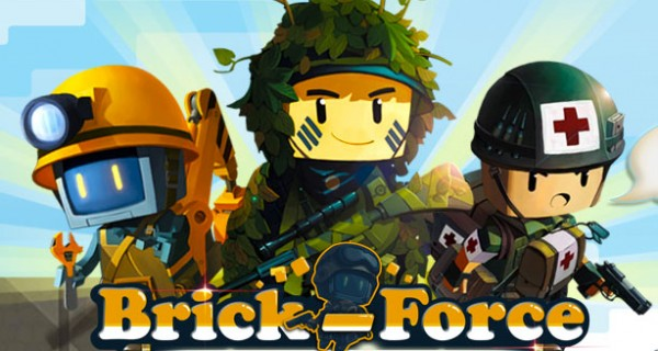 Minecraft Shooter Brick-Force in der offenen Beta
