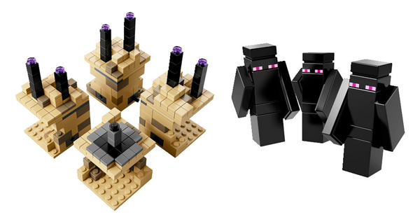 Minecraft Lego The End