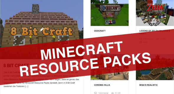 MINECRAFT RESOURCE PACKS