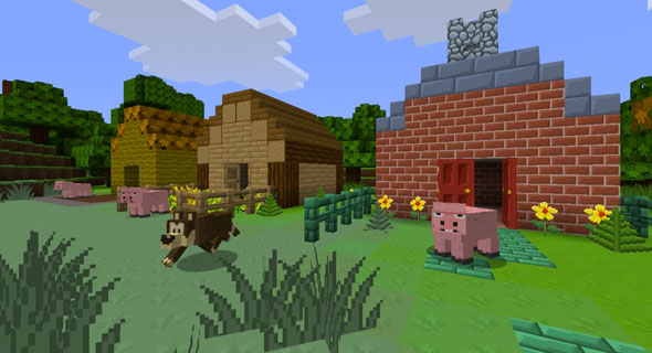 Minecraft-Cartoon-Texturen-Paket