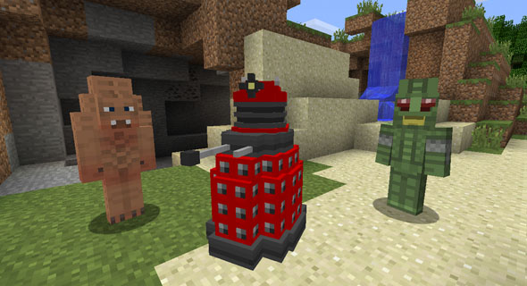 Minecraft-Doctor-Who-Skin-Pack
