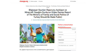 Minecraft-Petition