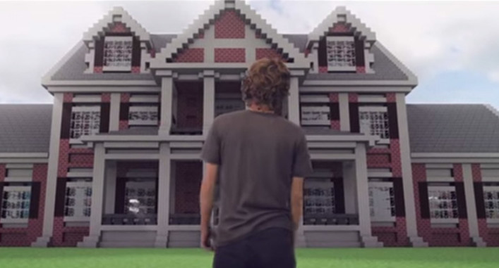 Minecraft The Better House Real Life Animation MinecraftSpielen - Minecraft real spielen