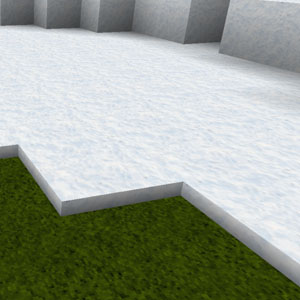 Minecraft Schnee normal