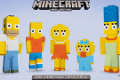 Minecraft Simpsons Skin Pack angekündigt