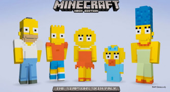 Minecraft-Simpsons-Skin-Pack