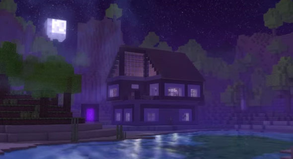Minecraft-Song-Through-The-Night