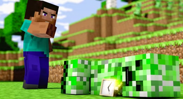 Minecraft Videos Element Animation
