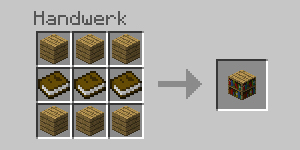 Minecraft_Crafting_Bücherregal