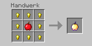 Minecraft_Crafting_Goldener_Apfel