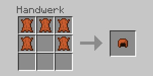 Minecraft_Crafting_Lederhelm