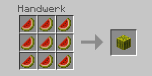Minecraft_Crafting_Melone