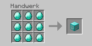 Minecraft_Diamantblock_Crafting
