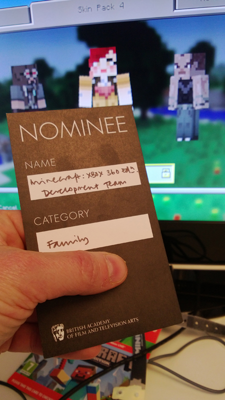 Nominee_Minecraft_Xbox 360-Version_BAFTA
