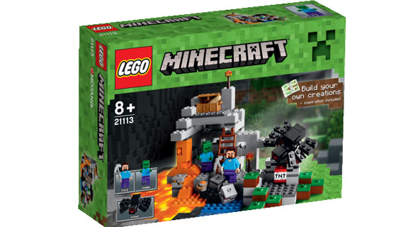 The Cave-Minecraft-Lego